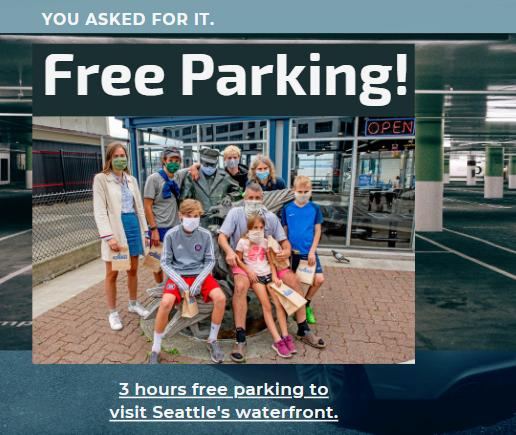 fall free parking2020